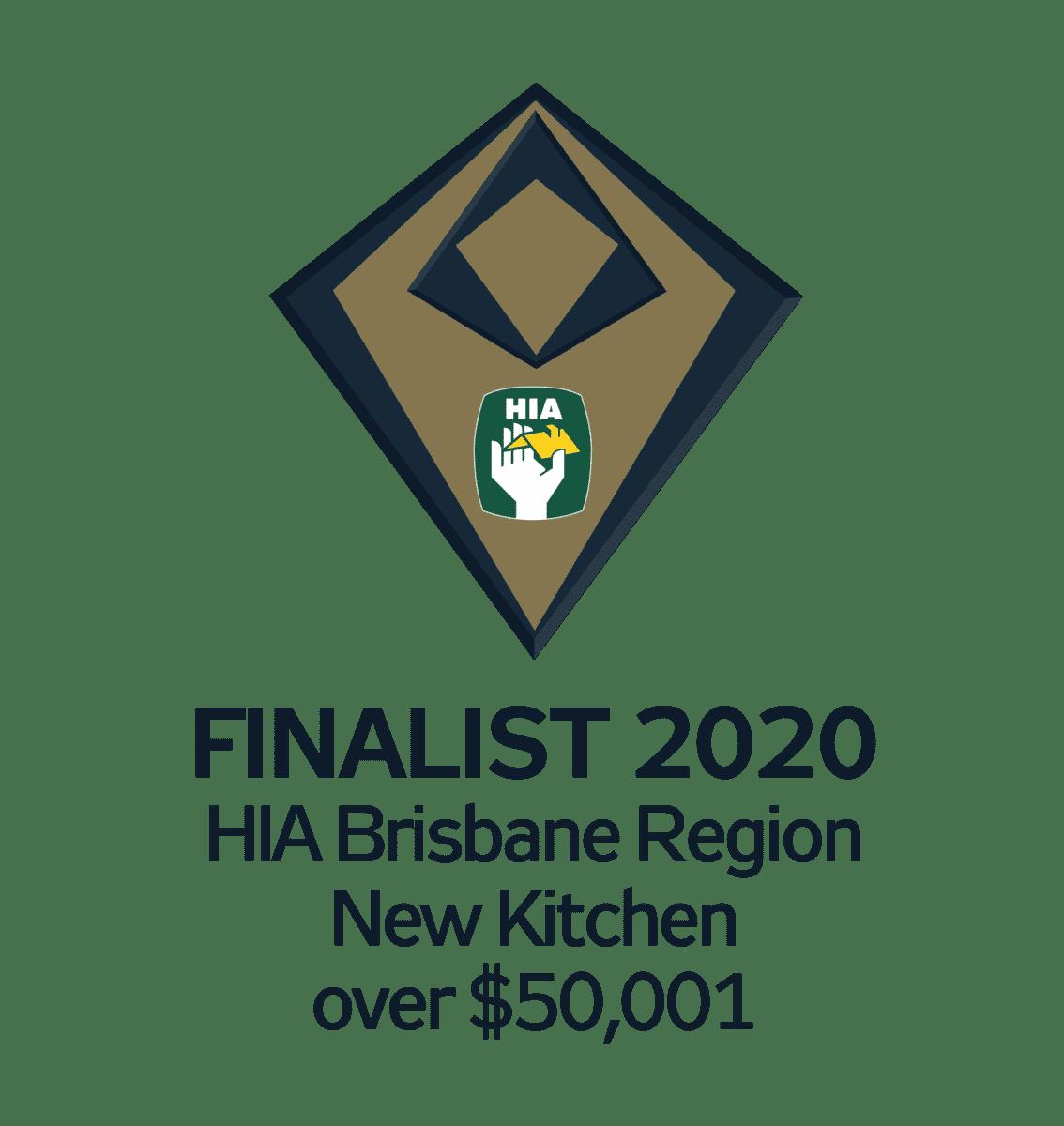 Finalist 2020 Brisbane New Kitchen